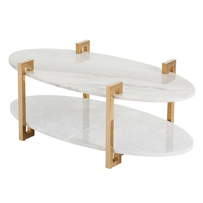 Oval C table